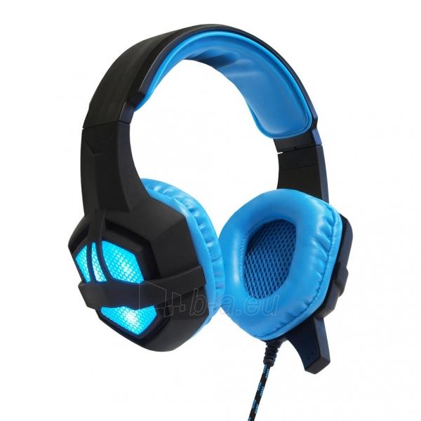ART GAMING ausinės su mikrafonu FLASH illuminate Paveikslėlis 1 iš 8 310820042369