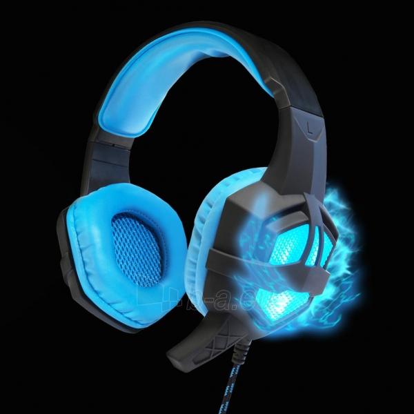 ART GAMING ausinės su mikrafonu FLASH illuminate Paveikslėlis 6 iš 8 310820042369