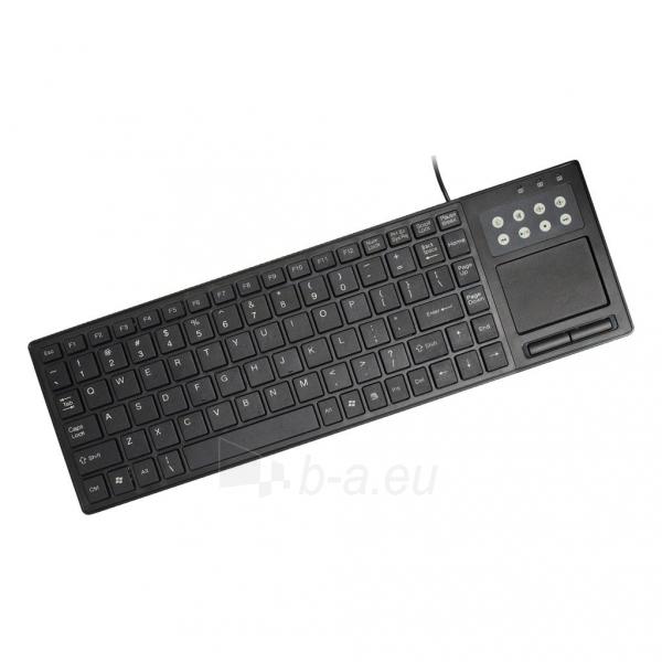 ART Klaviatūra + TOUCHPAD AK-68 USB Paveikslėlis 1 iš 3 250255701245
