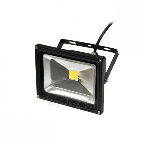 ART Lauko šviestuvas LED 20W,IP65,AC80-265V,black, 4000K- balta šviesa Paveikslėlis 1 iš 7 224114000260