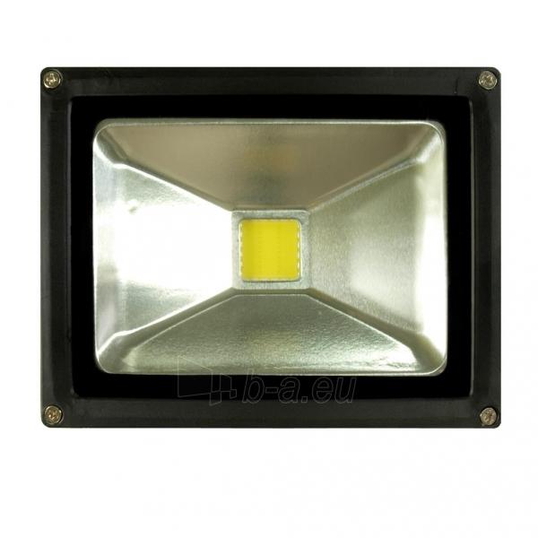 ART Lauko šviestuvas LED 20W,IP65,AC80-265V,black, 4000K- balta šviesa Paveikslėlis 4 iš 7 224114000260