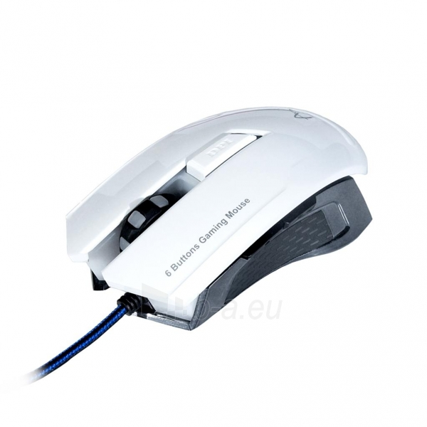 ART Mouse optical for players 2000DPI USB AM-90 white Paveikslėlis 1 iš 9 250255031628