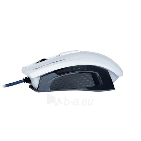 ART Mouse optical for players 2000DPI USB AM-90 white Paveikslėlis 3 iš 9 250255031628