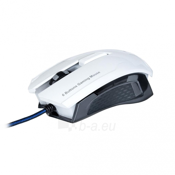 ART Mouse optical for players 2000DPI USB AM-90 white Paveikslėlis 5 iš 9 250255031628