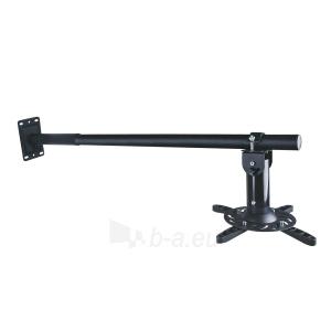 ART Projektoriaus laikiklis 100-200cm sieninis  P-106B 15KG juodas Paveikslėlis 1 iš 2 30058300198