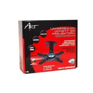 ART Projektoriaus laikiklis P-101 *16cm* juodas 15KG lubinis Paveikslėlis 3 iš 3 30058300192