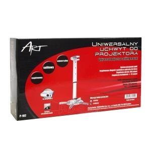 ART Projektoriaus laikiklis P-102 *40-62cm*  15KG sidabrinis Paveikslėlis 3 iš 3 30058300196