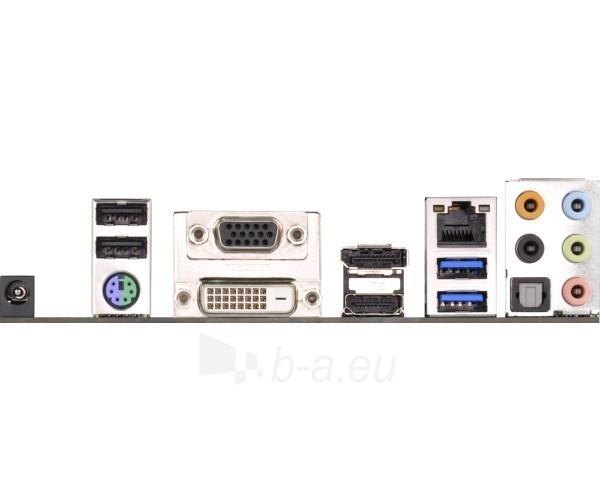 ASRock AM1H-ITX, AMD AM1, DualDDR3-1600, 4x SATA3, HDMI, DVI, DP, mITX Paveikslėlis 2 iš 2 250255051435