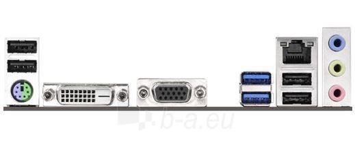 ASRock B85M-DGS, B85, DualDDR3-1600, SATA3, DVI, D-Sub, mATX Paveikslėlis 2 iš 2 250255051444