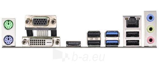 ASRock B85M PRO3, B85, DualDDR3-1600, SATA3, HDMI, DVI, D-Sub, mATX Paveikslėlis 2 iš 2 250255051440
