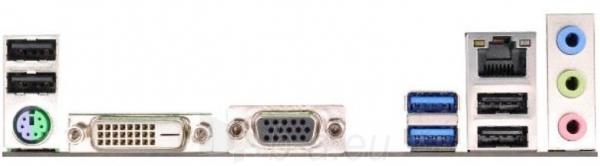 ASRock H81M-DG4, H81, DualDDR3-1600, SATA3, DVI, D-Sub, mATX Paveikslėlis 2 iš 2 250255051749