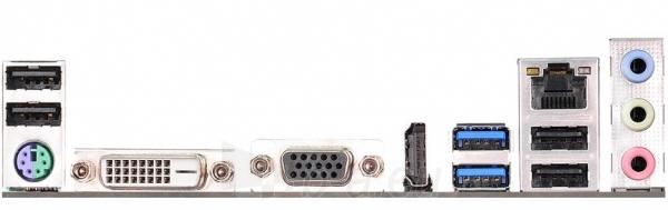 ASRock H81M-HDS R2.0, H81, DualDDR3-1600, SATA3, HDMI, DVI, D-Sub, mATX Paveikslėlis 2 iš 2 250255051796