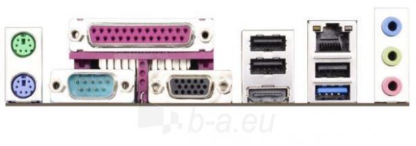 ASRock Q1900B-ITX, J1900, DualDDR3L-1333, 2xSATA2, HDMI, D-Sub, mITX Paveikslėlis 2 iš 2 250255051492