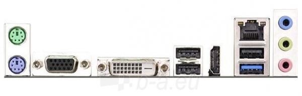 ASRock Q1900M, J1900, DualDDR3L-1333, 2xSATA2, HDMI, DVI, D-Sub, mATX Paveikslėlis 2 iš 2 250255051494