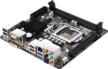 ASROCK S1155 B75 DDR3 SATA6 USB3 M-ITX Paveikslėlis 1 iš 1 250255050204
