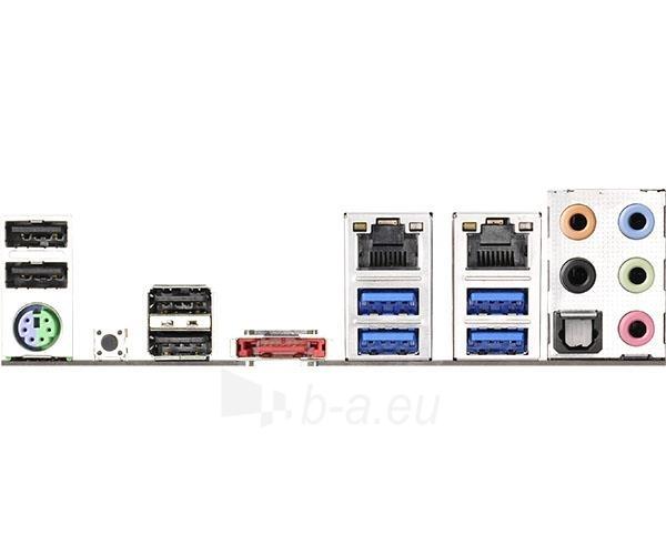 ASRock X99M Extreme4, X99, QuadDDR4-2133, SATA3, RAID, mATX Paveikslėlis 2 iš 2 250255051499