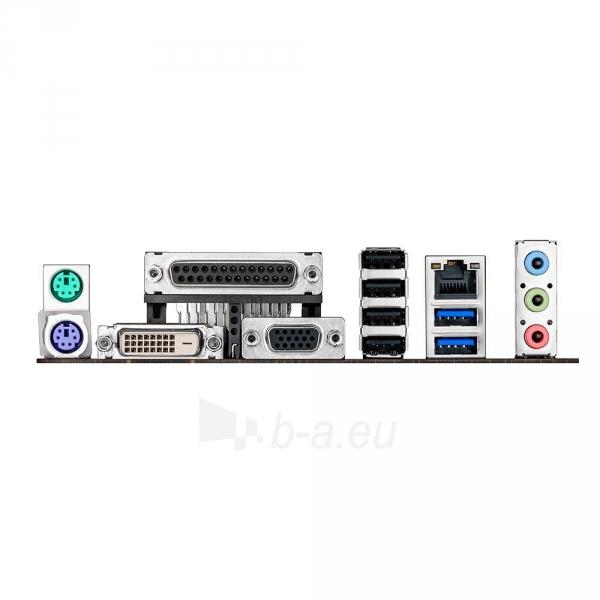 Asus, H81, DualDDR3-1600, SATA3, mATX Paveikslėlis 2 iš 2 250255051593