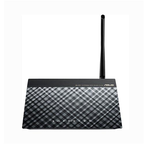 Asus DSL-N10 Wireless N150 ADSL 2/2+ Modem Router, Annex A&B, 1x 5dBi ant. Paveikslėlis 2 iš 6 250257200711