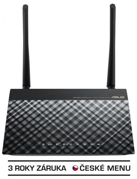 Asus DSL-N14U Wireless-N300 ADSL2+ Modem Router, Annex A & B Paveikslėlis 1 iš 3 250257200500