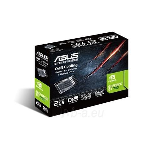 ASUS GeForce GT 730, 2GB GDDR5 (64 Bit), HDMI, DVI Paveikslėlis 2 iš 5 310820013520