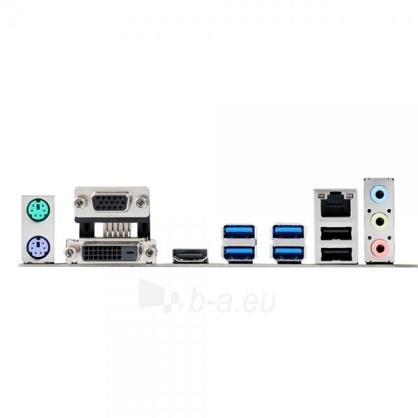 ASUS H170M-E D3, H170, QuadDDR3-1600, SATA3, M.2, HDMI, DVI, mATX Paveikslėlis 2 iš 2 250255051802