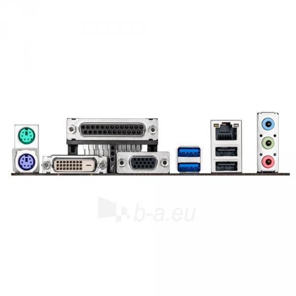 ASUS H81M-D, H81, DualDDR3-1600, SATA3, DVI, D-Sub, mATX Paveikslėlis 2 iš 2 250255051537
