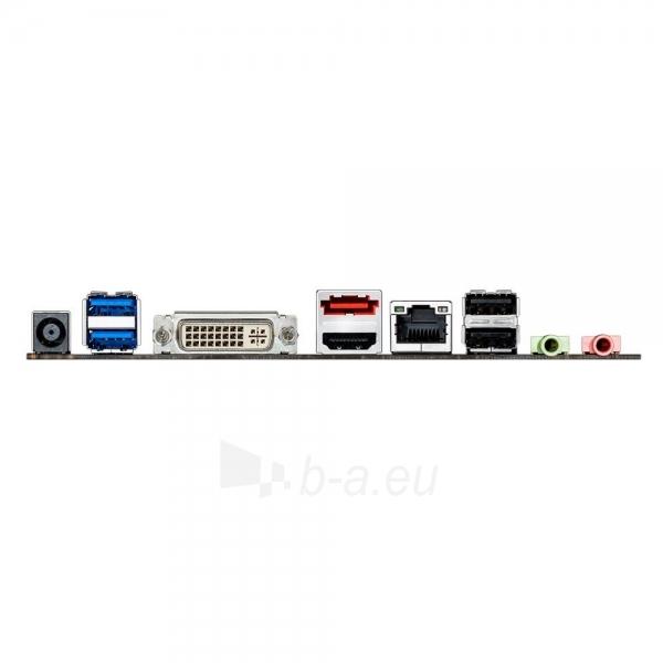 ASUS H81T, H81, DualDDR3-1600, SATA3, HDMI, DVI, mITX Paveikslėlis 2 iš 2 250255051759
