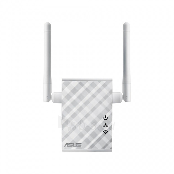 Asus RP-N12 Wireless-N300 Range Extender / Access Point / Media Bridge Paveikslėlis 2 iš 3 250257100676