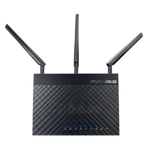 Asus RT-AC66U Dual-Band Wireless 802.11ac-AC1750 Gigabit Router Paveikslėlis 4 iš 9 250257200678