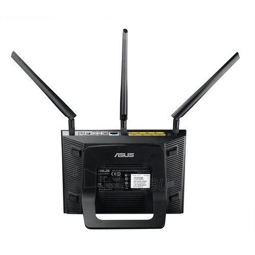 Asus RT-AC66U Dual-Band Wireless 802.11ac-AC1750 Gigabit Router Paveikslėlis 8 iš 9 250257200678