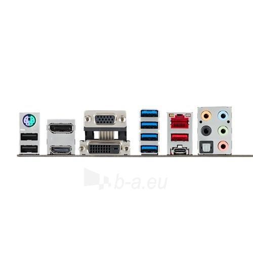 ASUS Z170 PRO GAMING, Z170, QuadDDR4-2133, SATA3, HDMI, DVI, DP, USB 3.1, ATX Paveikslėlis 2 iš 2 250255051814
