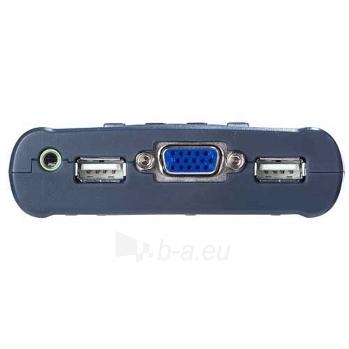 ATEN CS64US 4-Port USB KVM Switch, Speaker Support, 0.9/1.2m cables Paveikslėlis 3 iš 3 250257501444
