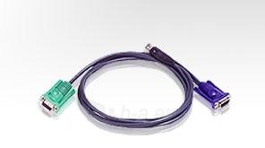 ATEN KVM kabelis (HD15-SVGA, USB, USB) - 3m Paveikslėlis 1 iš 1 250256600360