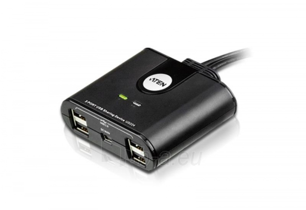 ATEN US224-AT 2-Port USB Peripheral Sharing Device Paveikslėlis 1 iš 1 250257501498