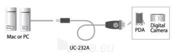 ATEN USB-RS232 D-Sub 9 konverteris Paveikslėlis 2 iš 4 250257501469