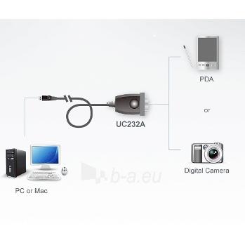 ATEN USB-RS232 D-Sub 9 konverteris Paveikslėlis 4 iš 4 250257501469