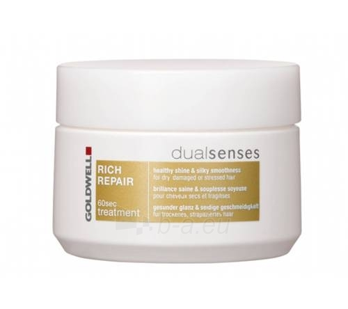 Replenishing protect intensive hair mask Dualsenses Goldwell Rich Repair Mask Cosmetic 200ml Paveikslėlis 1 iš 1 2508316000117