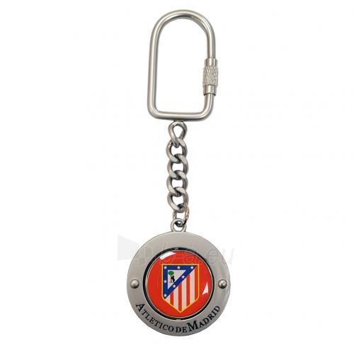 Atletico Madrid sukamas raktų pakabukas Paveikslėlis 1 iš 2 251009001384