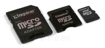 Atm.kort. KINGSTON Micro SD 2GB+adapt Paveikslėlis 1 iš 1 250255120660