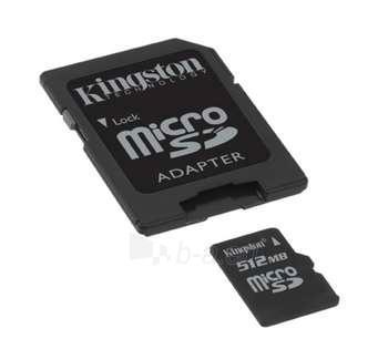 Atm.kort. KINGSTON Micro SD 512 Paveikslėlis 1 iš 1 250255120661
