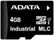 Atminties kortelė Adata Industrial microSDHC 4GB, MLC, nuo -45 iki 85C Paveikslėlis 1 iš 1 250255122628