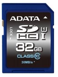 Atminties kortelė Adata SDHC UHS-1  32GB CL10 ( Transfer up to 30MB/s ) Paveikslėlis 1 iš 1 250255122969