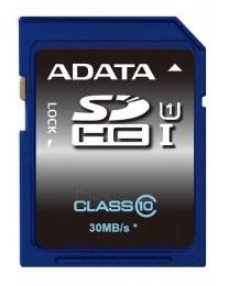 Atminties kortelė Adata SDHC UHS1 16GB, 30MBs Paveikslėlis 1 iš 1 250255122608