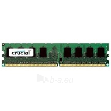 Atminties kortelė Crucial RAM 2GB DDR3 1600 MT/s (PC3-12800) CL11 Unbuffered UDIMM 240pin Single Ranked Paveikslėlis 1 iš 1 310820010172