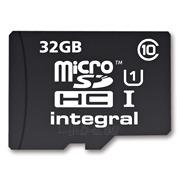 Atminties kortelė Integral microSDHC 32GB CL10  Adapteris Paveikslėlis 1 iš 2 250255122773