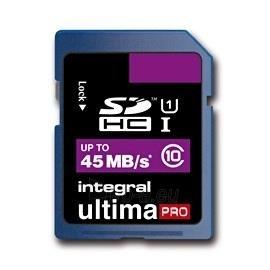 Atminties kortelė Integral SDHC 16GB CL10 ULTIMA PRO, UHS-I Paveikslėlis 1 iš 2 250255122600