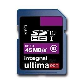 Atminties kortelė Integral SDHC 32GB CL10 ULTIMA PRO, UHS-I Paveikslėlis 1 iš 2 250255122588