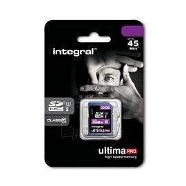 Atminties kortelė Integral SDHC 32GB CL10 ULTIMA PRO, UHS-I Paveikslėlis 2 iš 2 250255122588