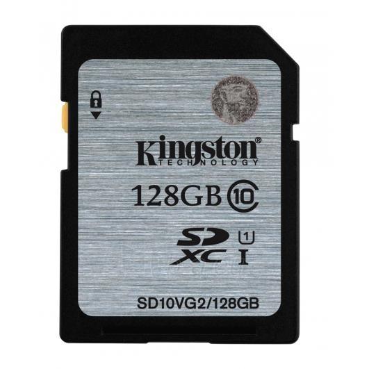 Atminties kortelė Kingston 128GB SDXC Class10 UHS-I Sparta 45MB/s Paveikslėlis 1 iš 1 250255123389
