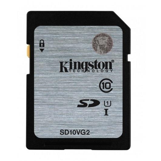 Atminties kortelė Kingston 16GB SDHC Class10 UHS-I Sparta 45MB/s Paveikslėlis 1 iš 1 250255123390
